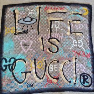 Gucci Ghost Scarf